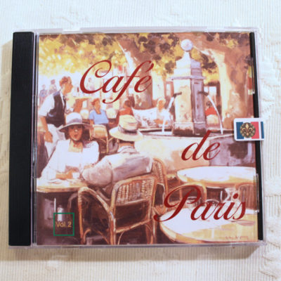 Music CD Cafe de Paris - Vol 2