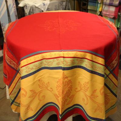 "64"" by 98"" Jacquard Rectangular Tablecloths"