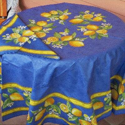 Valence Blue with Lemons